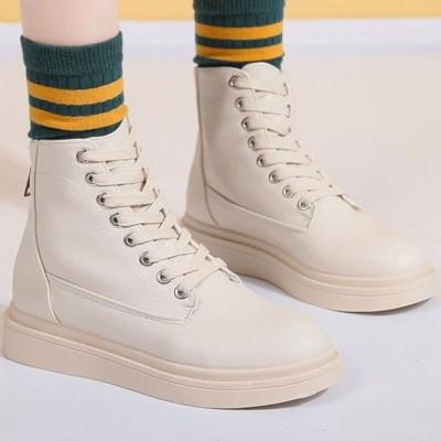 ヒルズスタイル hills style ブーツ 靴 シューズ ショートブーツ カジュアル (ベージュ)