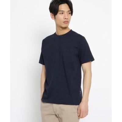 BASE STATION/ベースステーション 日本製 JAPAN MADE ハイブリッド Tシャツ ネイビー(093) 02(M)