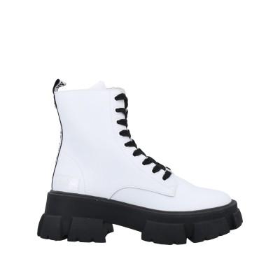 スティーブ マデン STEVE MADDEN ショートブーツ ホワイト 8 革 / ポリウレタン ショートブーツ