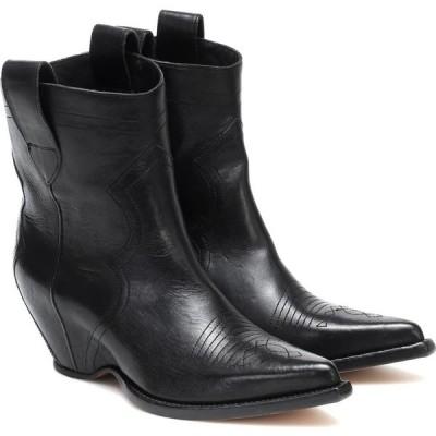 メゾン マルジェラ Maison Margiela レディース ブーツ ウエスタンブーツ シューズ・靴 leather cowboy boots