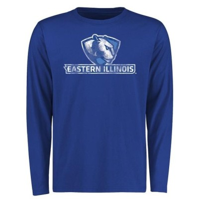 ユニセックス スポーツリーグ アメリカ大学スポーツ Eastern Illinois Panthers Big & Tall Classic Primary Long Sleeve T-Shirt - Ro