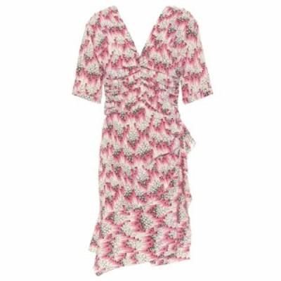 イザベル マラン Isabel Marant レディース ワンピース ワンピース・ドレス Arodie printed stretch-silk minidress Pink
