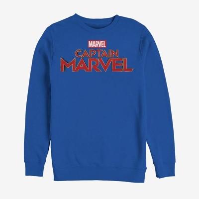 キャプテン マーベル スウェット マーベル Marvel スウェットシャツ レディース メンズ
