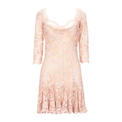 OLVI'S ミニワンピース&ドレス ローズピンク 3 ナイロン 59% / レーヨン 29% / ポリウレタン 12% ミニワンピース&ドレス