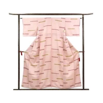 リサイクル着物 小紋 正絹総柄袷小紋着物