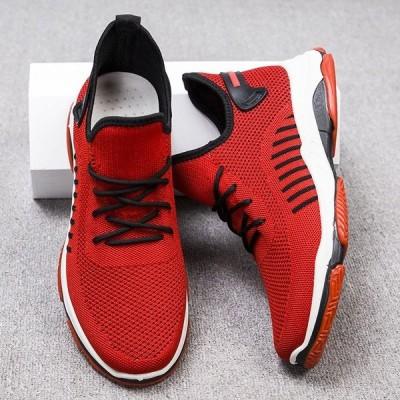 スニーカー メンズ ランニングシューズ ウォーキング おしゃれ 歩きやすい スポーツシューズ ファッション おしゃれ 通気性 滑り止め 靴
