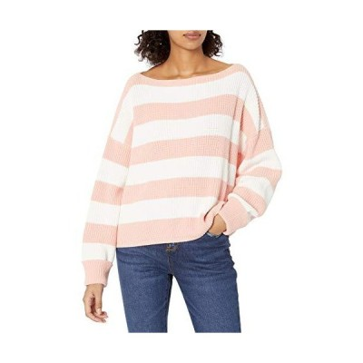 French Connection Women's Millie Mozart Solid Knits Sweaters, True Blossom/