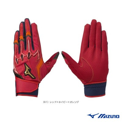 ミズノ 野球手袋  ミズノプロ シリコンパワーアークLI/バッティング手袋/両手用(1EJEA079)ミズプロ