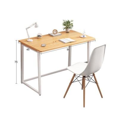 [ブラック]折りたたみ式コンピュータデスクホームシンプルな学生ライティングデスクシンプルでモダンなベッドルームホーム用の小さなテーブル