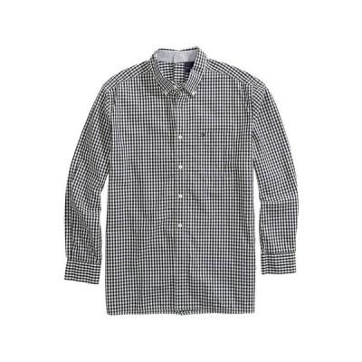トミー ヒルフィガー メンズ シャツ トップス Seated Button-Down Shirt in Slim Fit with Velcro Brand Closure