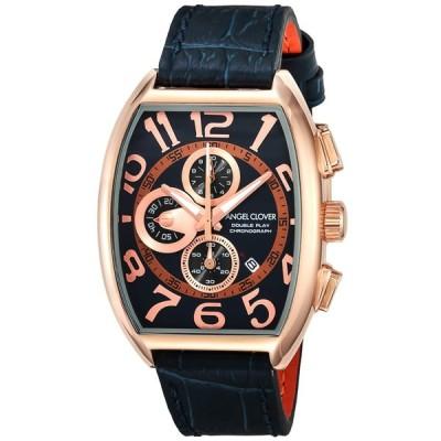 [エンジェルクローバー]Angel Clover 腕時計 ダブルプレイ ネイビー文字盤 10気圧防水 DP38PNV-NV メンズ