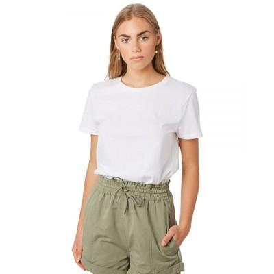 ボルコム Volcom レディース Tシャツ トップス Solid Organic Tee White