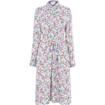 オンリー Only レディース パーティードレス ワンピース・ドレス floral tie dress Cloud Dancer