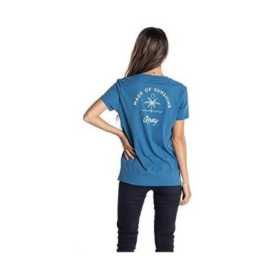 [ロキシー] Tシャツ SUNSHINE ROXY レディース NVY L