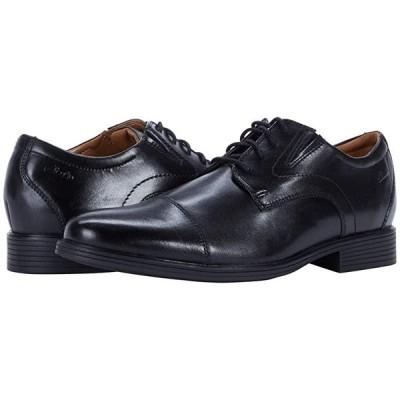クラークス Whiddon Cap メンズ オックスフォード Black Leather