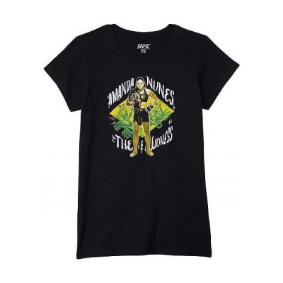 UFC UFC レディース 女性用 ファッション Tシャツ Amanda Nunes Painted Lioness Tee - Black