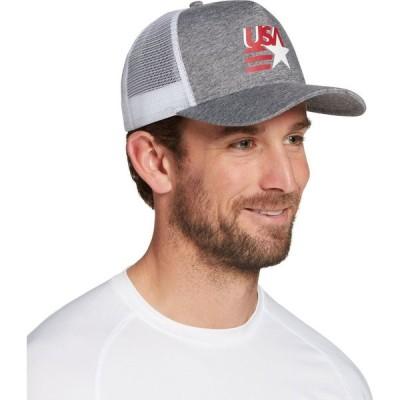 フィールドアンドストリーム Field & Stream メンズ キャップ トラッカーハット 帽子 Americana Trucker Hat Heather Grey