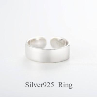 【アウトレット★Silver925★送料無料★新作】silver925 シルバー リング 指輪 レディース 太 幅広 デザインリング おしゃれ 幅太