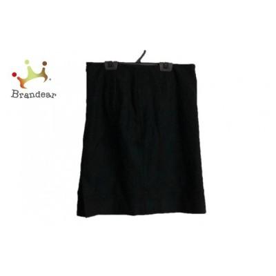 グリーンレーベルリラクシング green label relaxing スカート サイズ38 M レディース 黒             スペシャル特価 20191101