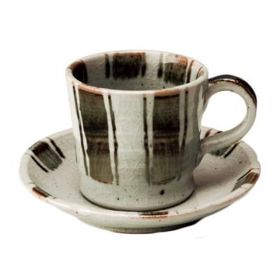 コーヒーカップ ソーサー 碗皿/ 江戸十草 コーヒーC/S(錆) /陶器 おしゃれ ギフト プレゼント 贈り物 カフェ
