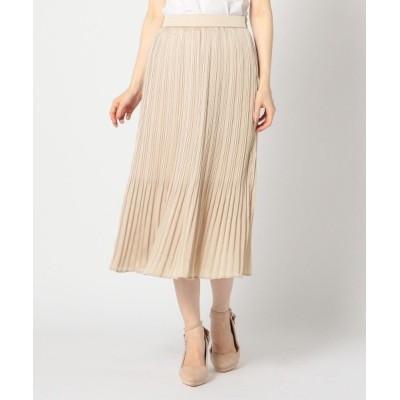 MISCH MASCH / 《田中みな実さん着用》サテン楊柳ロングスカート WOMEN スカート > スカート