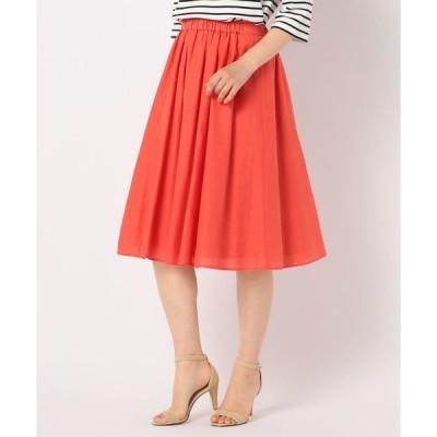 スカート 【WEB限定カラーあり】 Gigi 綿シルクローンスカート