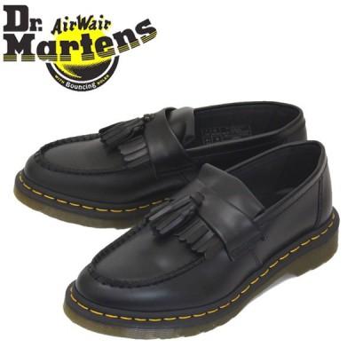 Dr.Martens (ドクターマーチン) 22209001 ADRIAN YELLOW STITCH エイドリアン イエローステッチ レザー タッセルローファー BLACK
