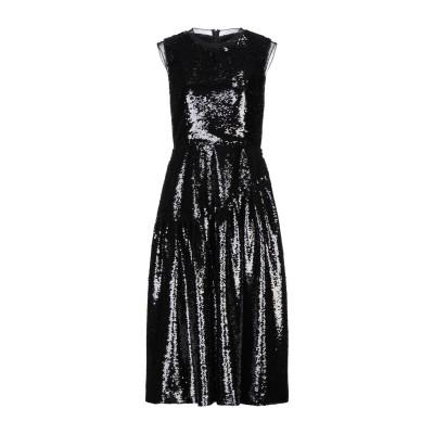 シモーネ・ロシャ SIMONE ROCHA 7分丈ワンピース・ドレス ブラック 10 ポリエステル 100% / ナイロン 7分丈ワンピース・ドレス