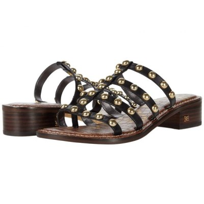サム エデルマン Sam Edelman レディース サンダル・ミュール シューズ・靴 Juniper Black Heavy Texas Veg Leather