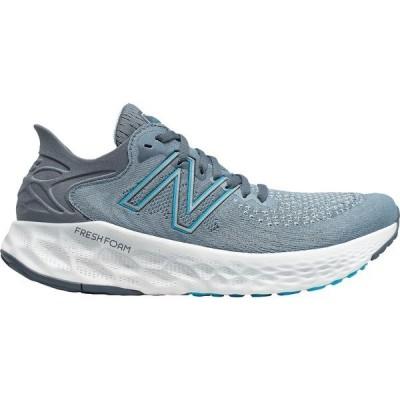 ニューバランス シューズ メンズ ランニング New Balance Men's Fresh Foam 1080 V11 Running Shoes Grey/Blue