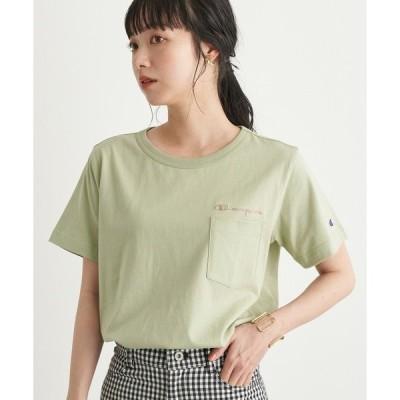 tシャツ Tシャツ Champion×earthポケット付きTシャツ *