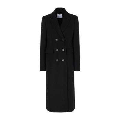 IVY & OAK コート ブラック 34 ウール 75% / ナイロン 25% コート