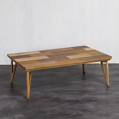 [幅120] こたつテーブル 長方形 突板 国産