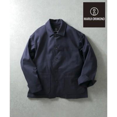 ジャケット カバーオール 丸井織物フレンチカバージャケット