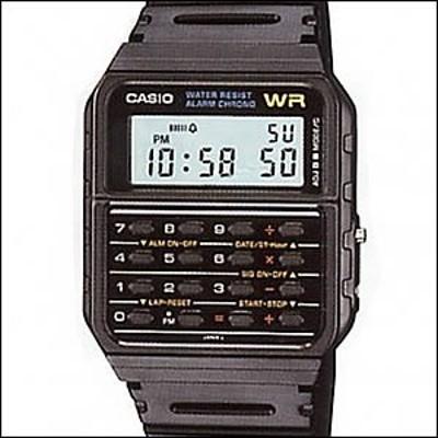 【箱なし】【メール便発送】海外CASIO 海外カシオ 腕時計 CA-53W-1Z メンズ ユニセックス CALCULATOR カリキュレーター