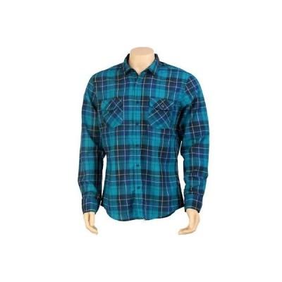 アクティブウェア トップス メンズ クルウ KR3W Lowell Long Sleeve Shirt (blue) K15207BLU