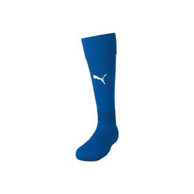 LIGA ジュニア ストッキング 子供 靴下 ソックス ハイソックス スポーツ サッカー フットサル 11-チームローヤル/ホワイト プーマ 729880-11