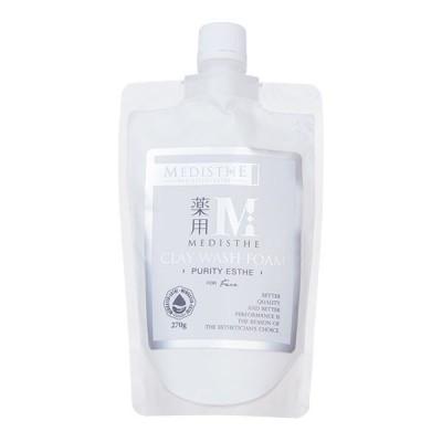 <MEDISTHE>薬用 クレイ洗顔フォーム 270g