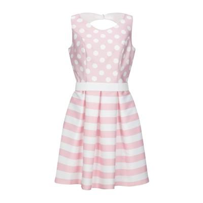 CASTING ミニワンピース&ドレス ライトピンク 38 ポリエステル 100% ミニワンピース&ドレス