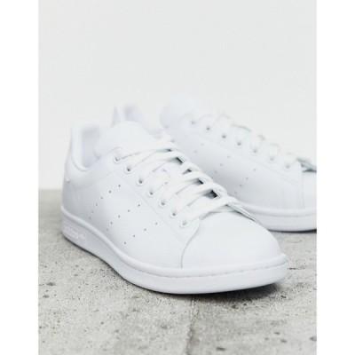 アディダス adidas Originals メンズ スニーカー シューズ・靴 Superstar Foundation trainers in triple white ホワイト