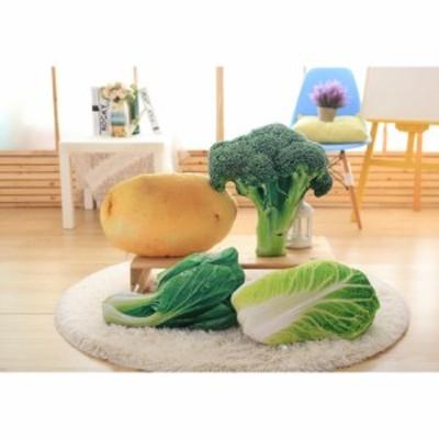 3D模擬野菜形クッションキャベツブロッコリージャガイモグリーンピースエンドウコンフォート枕