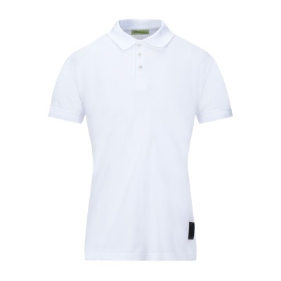 VERSACE JEANS ポロシャツ ホワイト 48 コットン 100% ポロシャツ