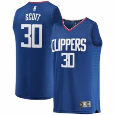 Fanatics Branded ファナティクス ブランド スポーツ用品  Fanatics Branded Mike Scott LA Clippers Royal Fast Break