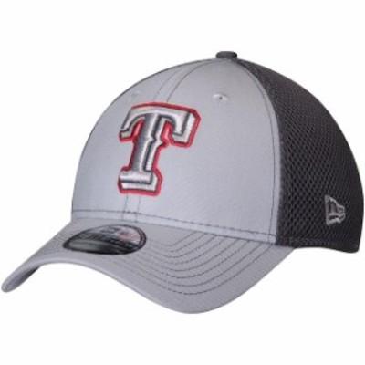 New Era ニュー エラ スポーツ用品  New Era Texas Rangers Gray Grayed Out Neo 2 39THIRTY Flex Hat