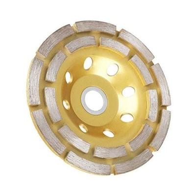 EEEKit 4-1/2-Inch Double-Row Diamond Cup Surface Grinding Wheel, 12-Segment