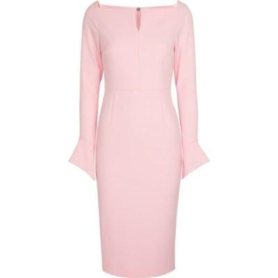 ローラン ムレ Roland Mouret レディース パーティードレス ミドル丈 ワンピース・ドレス Garten crepe midi dress Pearl Pink