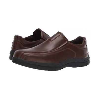 Deer Stags デアスタッグズ メンズ 男性用 シューズ 靴 ローファー Saxon - Dark Brown