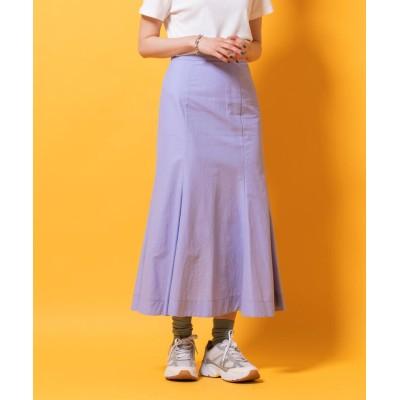 【lautreamont BLEU BLANC】 ナイロンマーメイドスカート レディース パープル 11号 lautreamont BLEU BLANC
