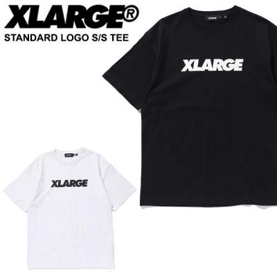 エクストララージ X-LARGE STANDARD LOGO S S TEE 半袖Tシャツ 男性 メンズ カットソー トップス [AA]