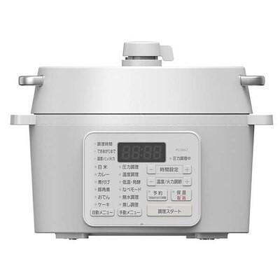 【在庫有即納】 電気圧力鍋 2.2L PC-MA2-W 圧力鍋 低温調理 なべ ナベ 無水調理 グリ